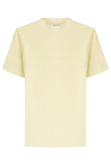 Carven Carven Cotton Top - Yellow