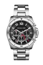 Michael Kors Michael Kors Brecken Silver-tone Stainless Steel Watch