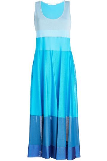 Agnona Agnona Striped Sleeveless Dress