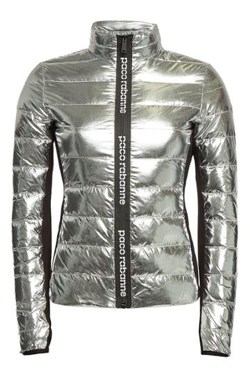 Paco Rabanne Paco Rabanne Metallic Quilted Jacket