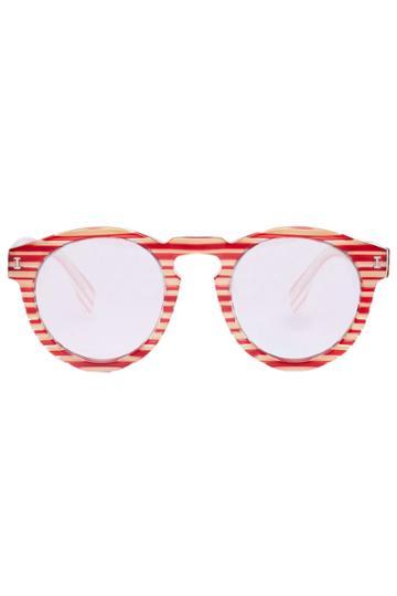 Illesteva Illesteva Leonard Sunglasses - Red