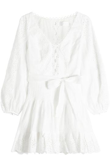 Zimmermann Zimmermann Eyelet Lace Mini Dress