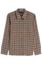 A.p.c. A.p.c. Plaid Cotton Shirt - Multicolor