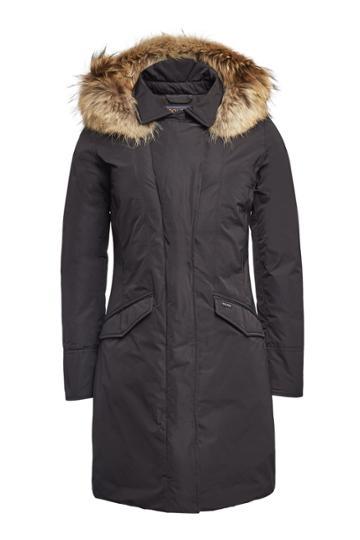 Woolrich Woolrich Modern Vail Down Coat With Fur