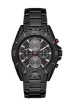 Michael Kors Michael Kors Jetmaster Black-tone Carbon Fiber Watch