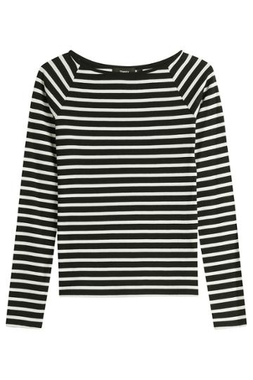 Theory Theory Striped Cotton Top