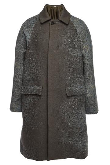 Jil Sander Jil Sander Rousseau Virgin Wool Coat