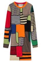 Moschino Moschino Colorblock Wool Dress