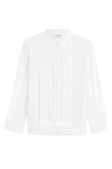 Vionnet Vionnet Silk Blouse - White