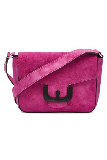 Coccinelle Coccinelle Ambrine Suede Shoulder Bag