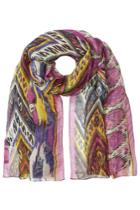 Etro Etro Printed Scarf With Linen And Silk