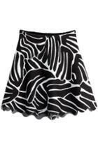 Issa Flared Knit Skirt