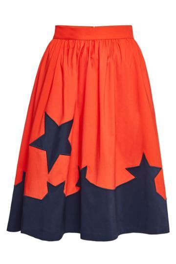 Steffen Schraut Steffen Schraut Victoria Star Skirt With Cotton