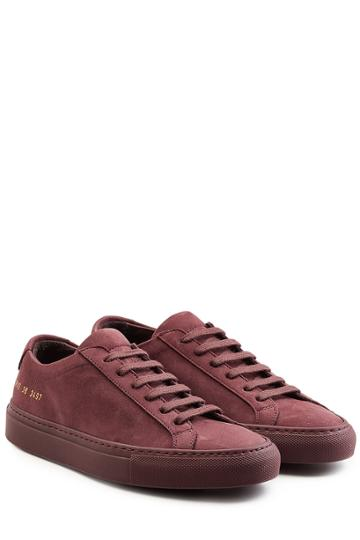 Common Projects Common Projects Suede Sneakers