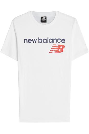New Balance New Balance Printed Cotton Shirt