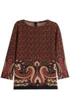 Etro Printed Wool Top