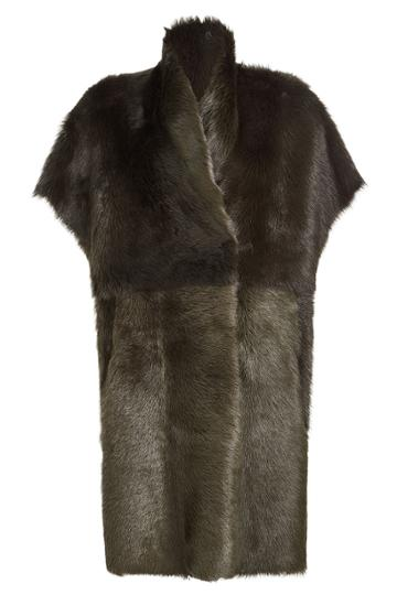 Utzon Utzon Shearling Coat