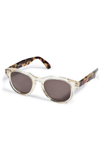 Illesteva Illesteva Two-toned Sunglasses - White