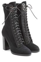 Sergio Rossi Sergio Rossi Lace Up Suede Boots