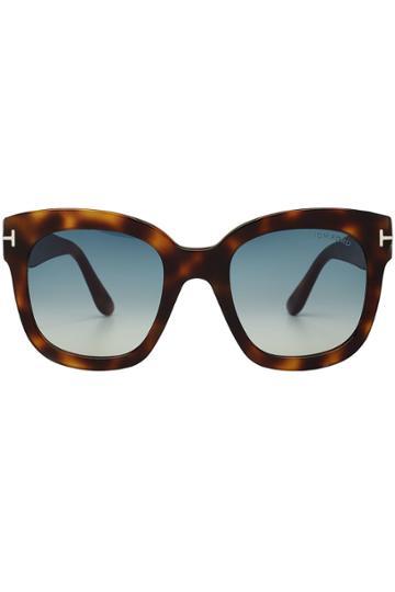 Tom Ford Tom Ford Tortoiseshell Print Sunglasses