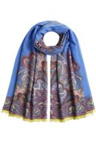 Etro Etro Printed Scarf In Wool, Cashmere And Silk