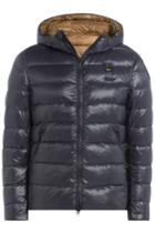 Blauer Blauer Down Jacket With Hood - Blue