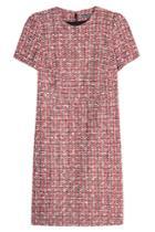Alexander Mcqueen Alexander Mcqueen Tweed Dress With Cotton And Virgin Wool