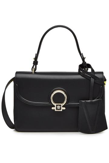 Versace Versace New Dv1 Small Leather Tote