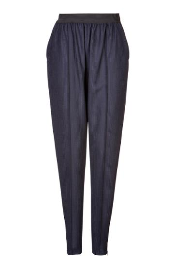 Céline Céline Wool Tapered Trousers - Blue