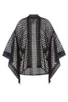 Anna Sui Anna Sui Crochet Cape