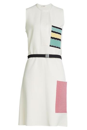 Céline Céline Double Faced Knit Dress - Beige