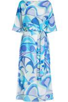 Emilio Pucci Emilio Pucci Printed Maxi Dress