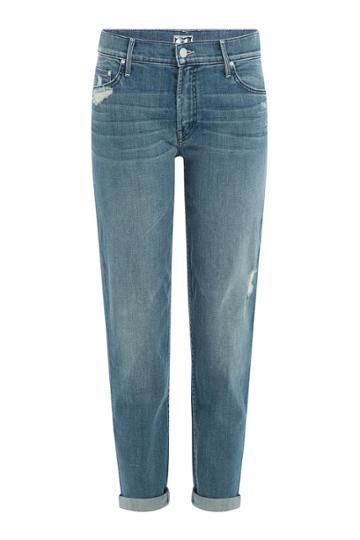 Mother Mother The Dropout Cropped Jeans