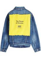 Balenciaga Balenciaga The Power Of Dreams Denim Jacket
