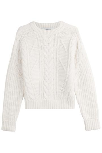Carven Carven Wool Pullover - Beige