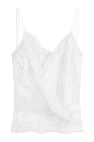 Carven Carven Lace Camisole - White