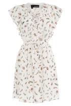The Kooples The Kooples Printed Silk Dress - Multicolor