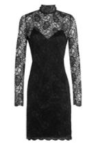 The Kooples The Kooples Lace Cocktail Dress - Black