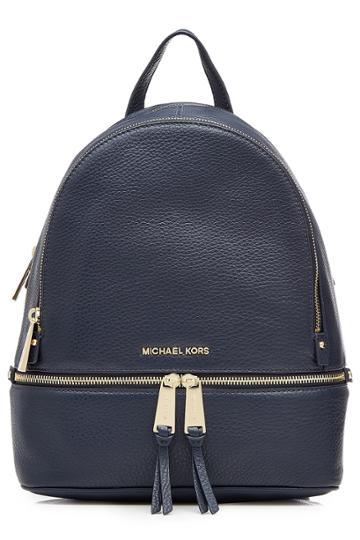 Michael Michael Kors Michael Michael Kors Leather Backpack