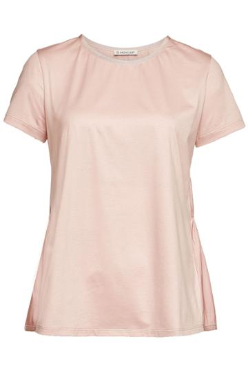 Moncler Moncler Cotton T-shirt With Peplum Back