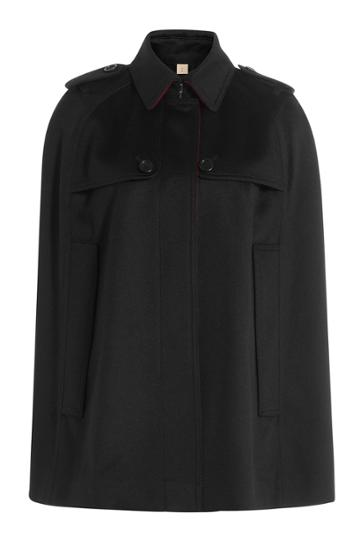Burberry Brit Burberry Brit Cashmere Cape - Black