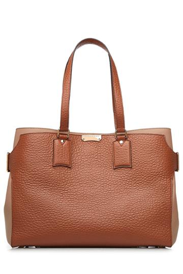 Burberry Burberry Leather Tote