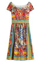 Dolce & Gabbana Dolce & Gabbana Printed Cotton Dress