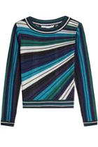 Diane Von Furstenberg Diane Von Furstenberg Top With Metallic Thread