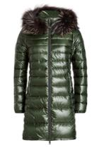 Duvetica Duvetica Down Coat With Fur-trimmed Hood