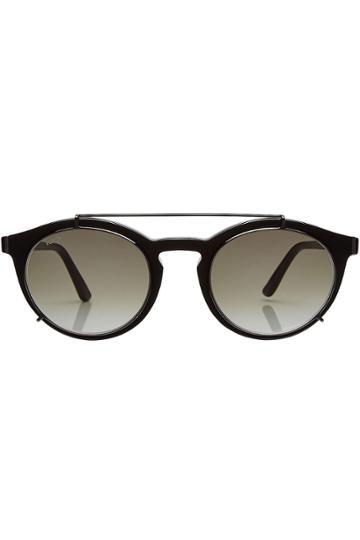 Tod's Tod's Round Sunglasses - Black