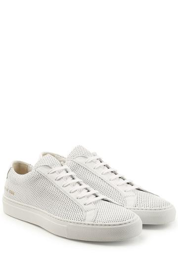 Common Projects Common Projects Perforated Leather Sneakers