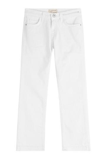 Current/elliott Current/elliott Cropped Straight Jeans