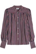 Frame Denim Frame Denim Striped Silk Blouse
