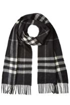 Burberry Shoes & Accessories Burberry Shoes & Accessories Checked Cashmere Scarf